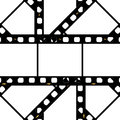 Filmstrip background frame Royalty Free Stock Photos