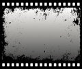 Filmstrip do Grunge Foto de Stock Royalty Free