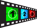 Filmstrip vector illustration Stock Photo