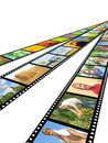 Filmstrips Royalty Free Stock Photos