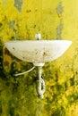 Filthy Unused Washroom Royalty Free Stock Photo