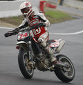 FIM Supermoto World Championship in Milan Stock Image