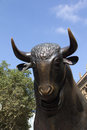 Finacial Bulls Stock Photography
