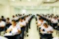 Final examination Royalty Free Stock Photo