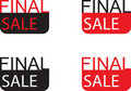 Final sale sign Royalty Free Stock Photo