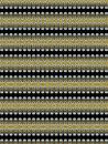 Final special textile pattern for different uses in black and golden tones very interesting design for all uses Royalty Free Stock Photography