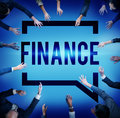 Finance economics accounting interest concept Royalty Free Stock Photography