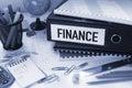 Photo : Finance  analyst market
