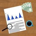 Finance infochart report