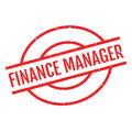 Finance Manager rubber stamp