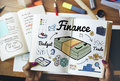 Finance money debt expenditure trade concept Stock Photography