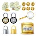 Finance Secure Concept Vector.