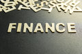 Image : FINANCE word  bank spreadsheet