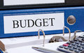 Financial budget Royalty Free Stock Photo