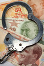 Financial Crime and Corruption Stock Photos