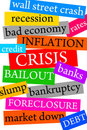 Financial crisis Stock Images