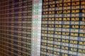 Financial data- stock exchange Royalty Free Stock Photo