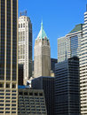 Financial district, Manhattan, New York Stock Photography