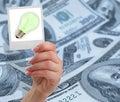 Financial idea concept Royalty Free Stock Photos