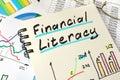 Financial Literacy. Royalty Free Stock Photo