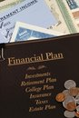 Financial plan Stock Photo
