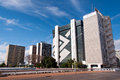 Financial Sector of Brasilia Royalty Free Stock Photo