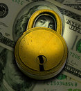 Financial Security Stock Photo