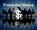Financial Status Budget Credit Debt Planning Concept Royalty Free Stock Photo