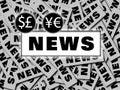 Financial World News branding Royalty Free Stock Photo