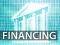 Financing illustration Royalty Free Stock Photography