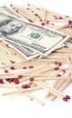 Finansiell risk Arkivfoton