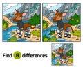 Find differences, Okapi