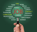 Find a job Royalty Free Stock Photo
