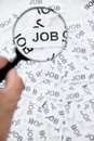 Find a job concept Royalty Free Stock Photos