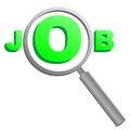 Find job this is logo Stock Photos
