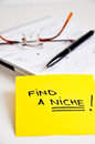 Find a niche market concept Stock Photography
