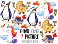 Find one picture educational game