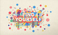 Find Yourself Quote Poster Des...