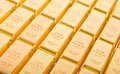 Fine gold 999,9 Royalty Free Stock Images