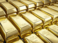 Fine Gold Bars Stock Image