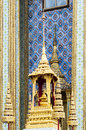 The fine pointed roof in grand palace thailand photo taken on nov th Royalty Free Stock Image