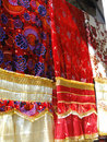 Fine silk brocade Royalty Free Stock Photography