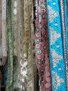 Fine silk brocade Stock Image
