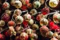 Finery of christmas christmas ball balls Royalty Free Stock Image