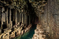 Fingals Cave - Staffa - Scotland Royalty Free Stock Photo
