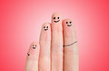 Finger family Stock Photos