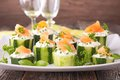 Finger Food With Cucumber,