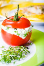 Finger food tomato Royalty Free Stock Photo