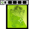 Finger Print Scanner Royalty Free Stock Image
