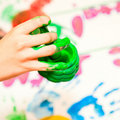 Fingerpaint Stock Photos